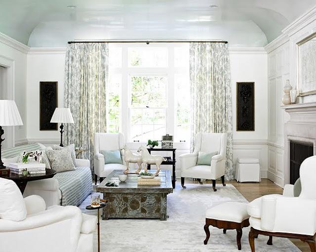 Beth Webb--high gloss ceiling