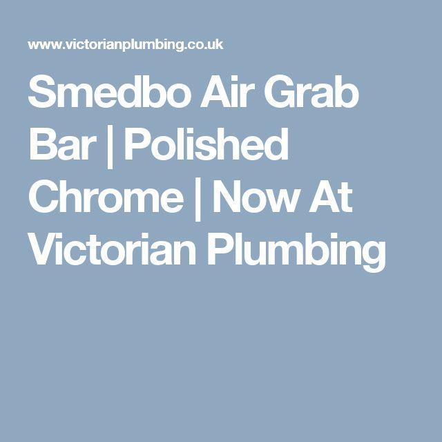 Smedbo Air Grab Bar   Polished Chrome   Now At Victorian Plumbing