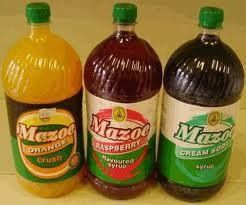 Mazoe Orange juice, made in Zimbabwe ah yes mazowe, just add water (eb)