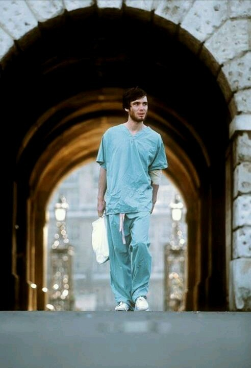"Cillian Murphy in ""28 Days Later""... One heck of a zombie / post apocalyptic movie"