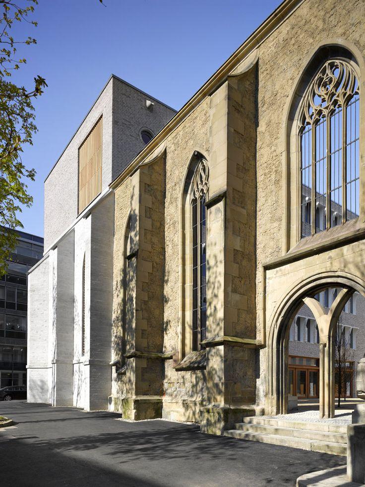 Roland Halbe Architectural Photography Hospitalhof Stuttgart 2014