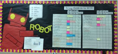 ROBOT (Return Our Books On Time) class incentive