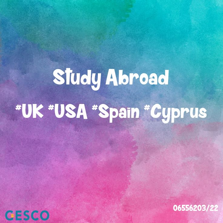 GESCO Study Abroad #UK #USA #Spain #Cyprus  Mecca St. Al-Hijaz Towers (158) office (603)  065562033/065562022 #GESCOJo #Jo #Amman #Jordan #StudyAbroad
