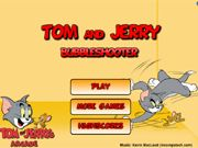 Tom and Jerry Bubble Shooter    A Classic Bubble Shooter game with a Tom and Jerry Theme, Aim the arrow to burst the matching bubbles, in order to burst the bubbles you will need at least three of the same characters. Compete with your friends and family in this high score game. use your mouse to aim and shoot.  http://ezarcade.net/games/tom-and-jerry-bubble-shooter/