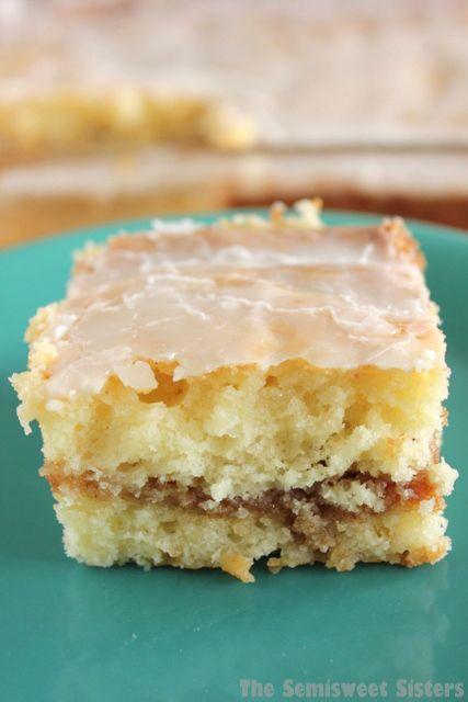 Honey Bun Cake Made 100% From Scratch (no cake mix)