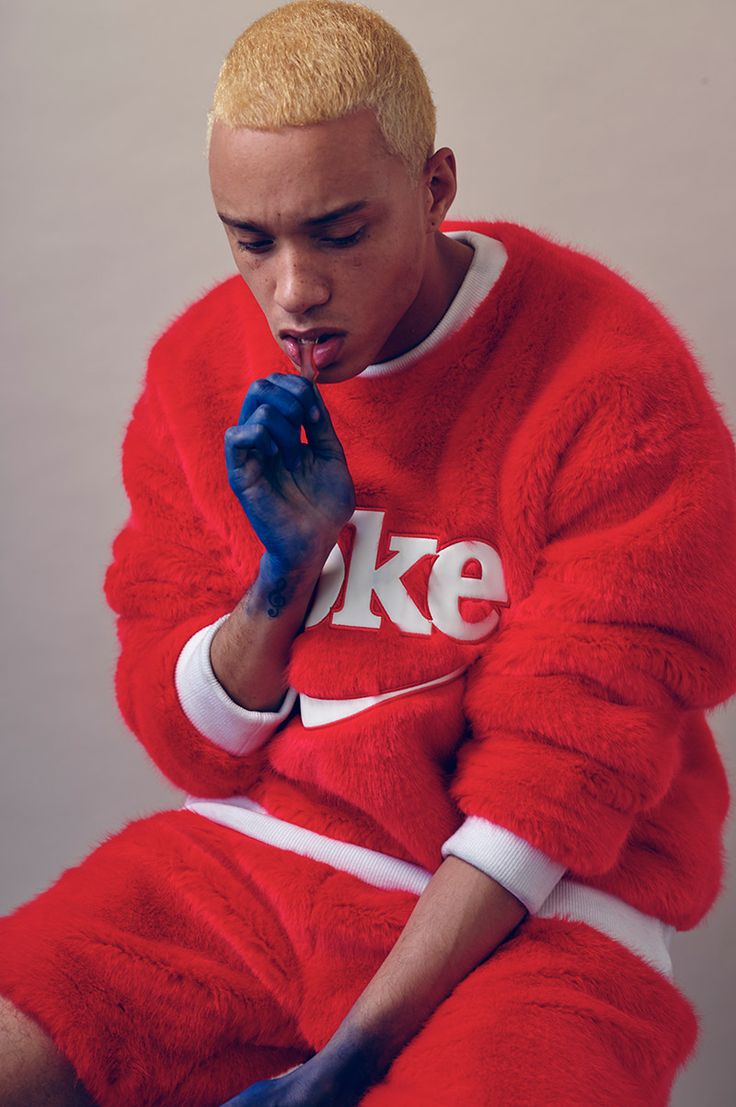 Tyler at AMCK photographed by Christian Rinke and styled by Fernando Torres with pieces from Martine Rose, Joyrich, Majestic, Christian Lacroix, Calvin Klein, Xander Zhou, Element and Silver Spoon Attire, in exclusive for Fucking... »
