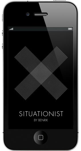 Situationist is an iPhone app that makes your everyday life more thrilling and unpredictable.