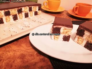 DIN SERTARUL CU REȚETE: Prăjitură Tablă de șah