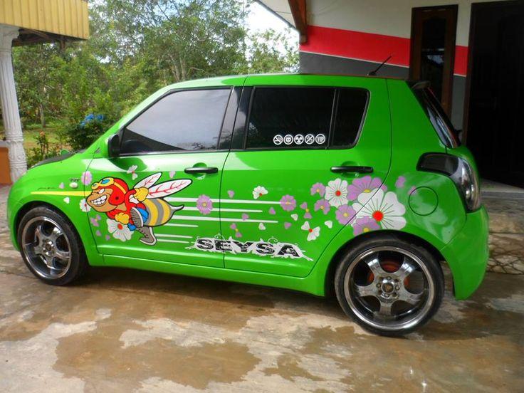 Wraps & Cut Suzuki Swift #TribalGraphics #CuttingSticker #3DCuttingSticker #Decals #Vinyls  #Stripping #StickerMobil #StickerMotor #StickerTruck #Wraps  #AcrilycSign #NeonBoxAcrilyc #ModifikasiMobil #ModifikasiMotor #StickerModifikasi  #Transad #Aimas #KabSorong #PapuaBarat