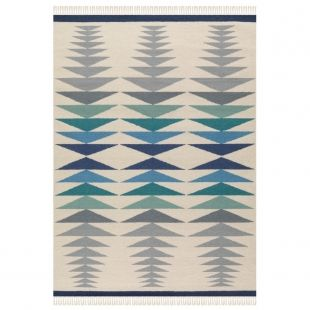 tapis salon classy kilim bleu arte espina projet salon ambiance scandinave pinterest. Black Bedroom Furniture Sets. Home Design Ideas