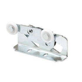 """Prime Line 16497 Sliding Pocket Door Roller Assembly, 3/4""""- 1-3/8"""", Grey metal"""