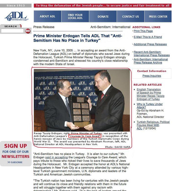 Erdoğan Üstün Cesaret Ödülü Aldı Yalanı  http://dirilisgazetesi.com