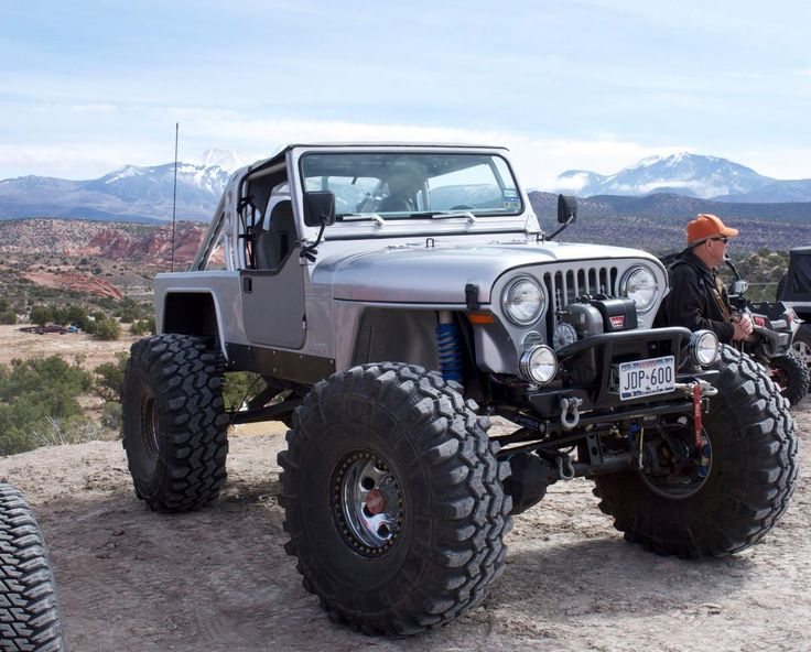 jeep scrambler - 1 ton axles, coil overs and links, small block motor and really cool body work