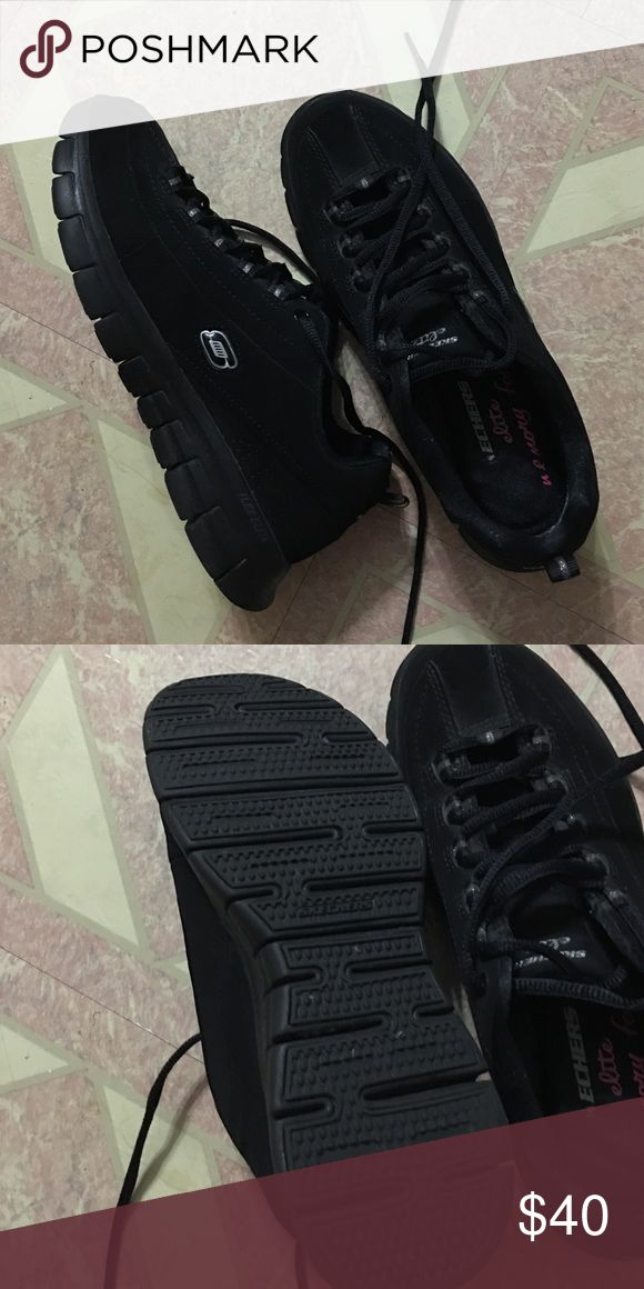 Sketchers Elite Memory Foam Sneakers Like new. Only worn a handful of times. They are super comfy, I just bought the wrong size. Skechers Shoes Sneakers