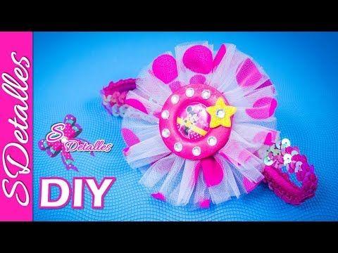 Como hacer Cintillos o Diademas: Diadema con Flores de Encaje y Cinta | Video# 16 | SDetalles | DIY - YouTube