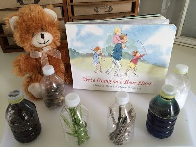 Here's a quick and cheap DIY when you need something to occupy your toddler or preschooler! I saw some sensory stations made to coincid...
