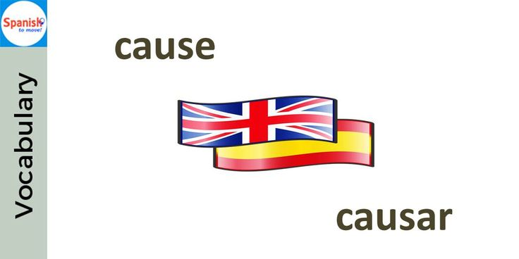 #Spanish cognates: CAUSAR. Can you use it in a sentence?