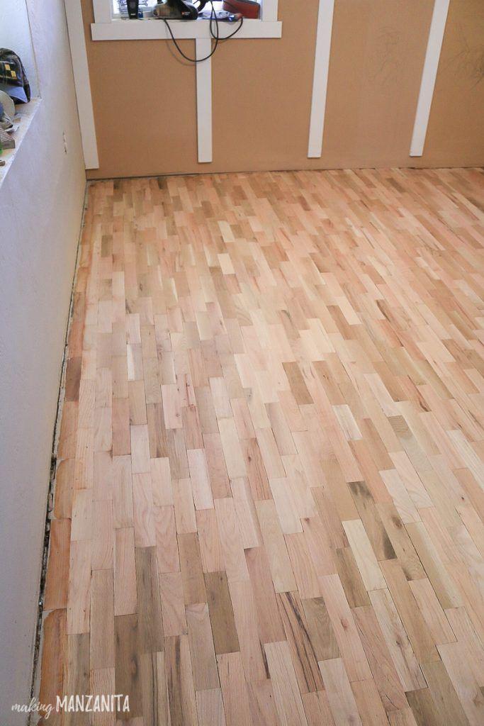 Hardwood Floor Refinishing Making Manzanita Diy Hardwood Floors Refinishing Hardwood Floors Refinishing Floors