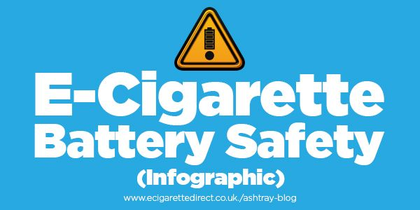 All batteries have the potential to explode, but by following these 10 rules to e-cig battery safety you can reduce the chances to 1 in 10 million.