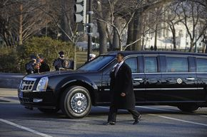Meet the next president's new Beast, a giant bomb-proof limo
