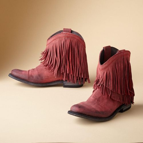 Santa Fe Fringe Boots from Sundance on Catalog Spree, my personal digital mall.