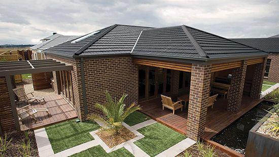 "Monier roof tiles  – traditional range - ""barramundi"""