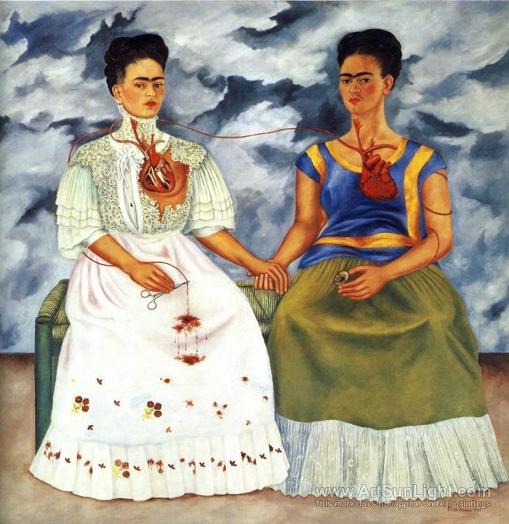 Frida Kahlo- Two Fridas