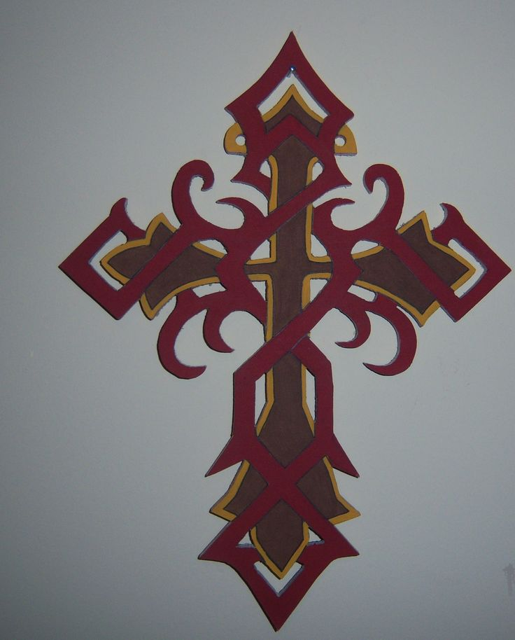 3d wall hung  celtic cross                                                                               price is €30 plus €5 p+p can be painted in most colours