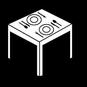 picto: tafel dekken