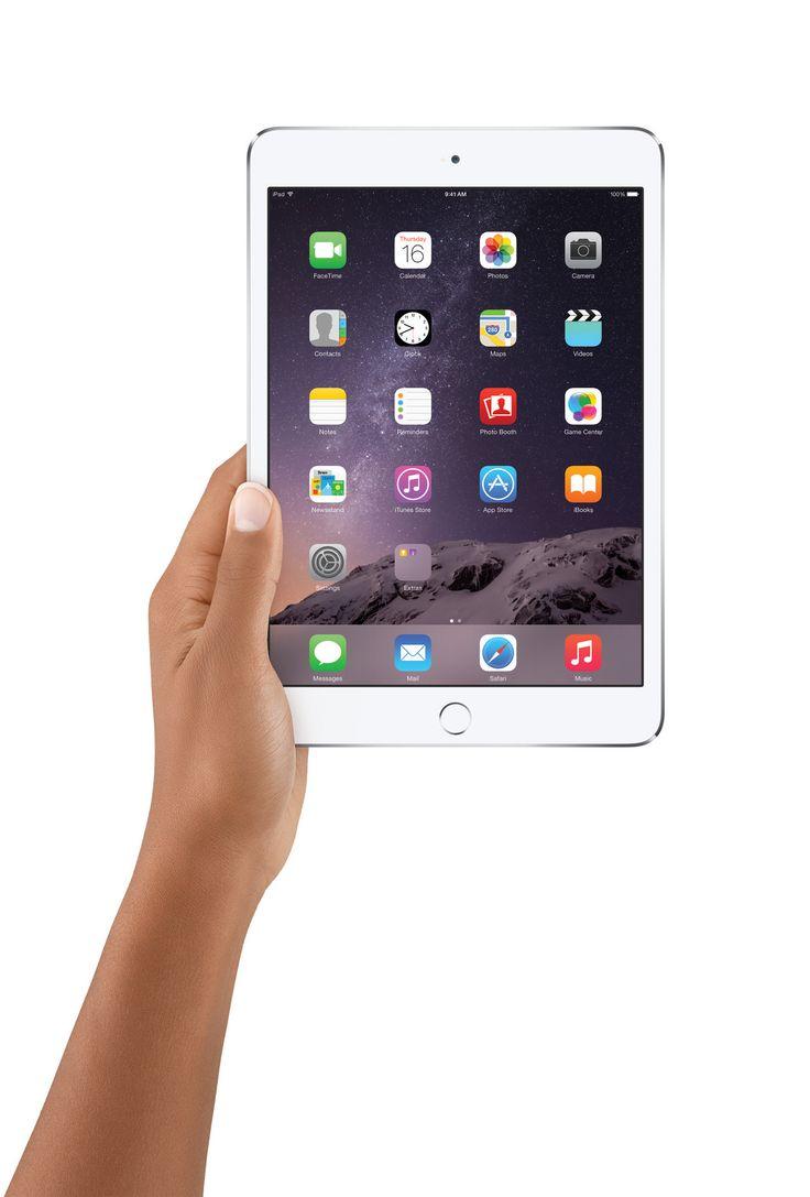 The iPad Mini 3- http://www.apple.com/ipad-mini-3/ Accessories- http://www.apple.com/ipad-mini-3/accessories/