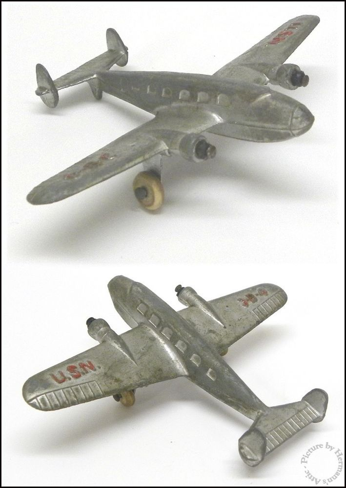 1930 S Vintage Hubley Lockheed Electra Usn 3 B 4 Amelia