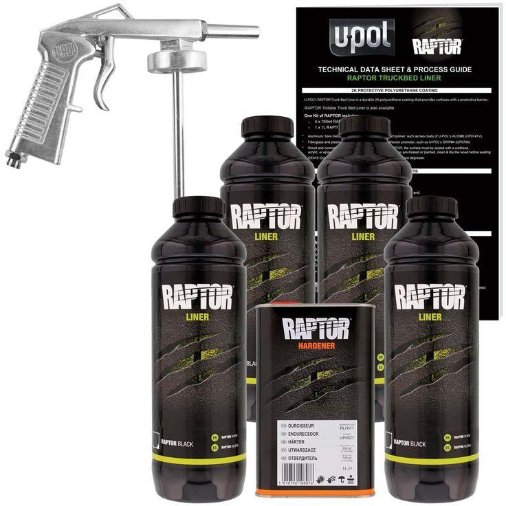 U_POL_Raptor_Black_Urethane_Spray_On_Truck_Bed_Liner_Kit