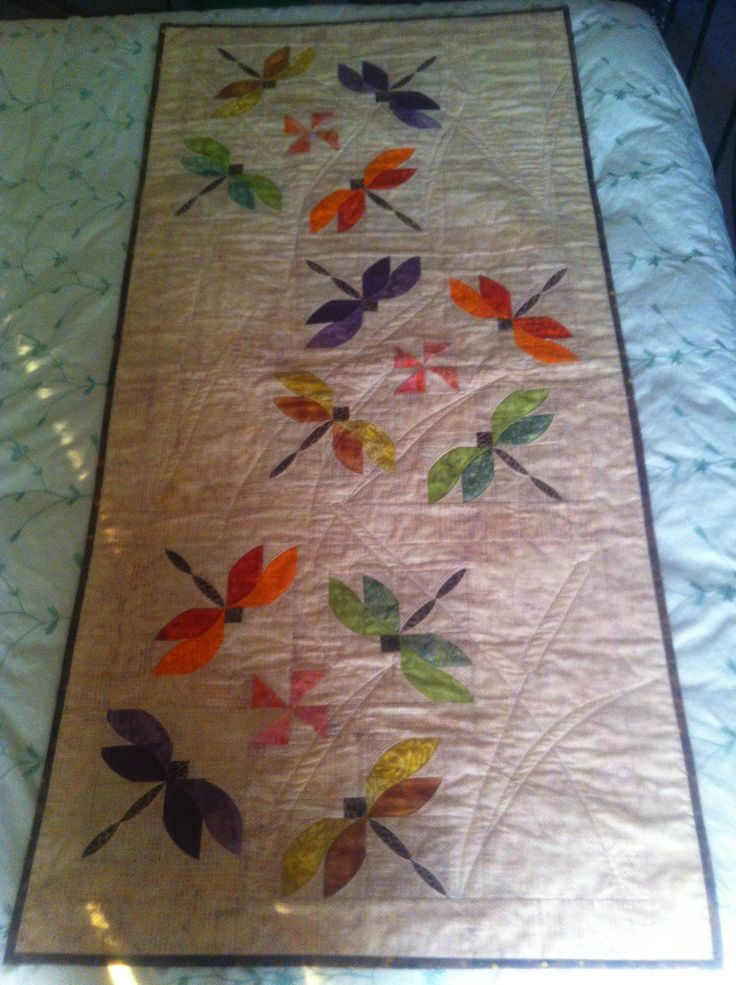 Best 24 Dragonfly Quilts Images On Pinterest Butterflies