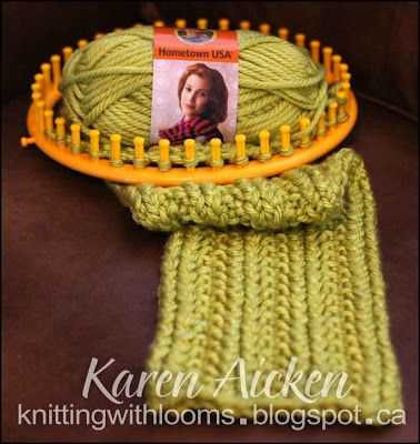 Knitting With Looms: Knitting Looms