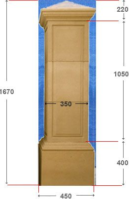 Gate Post S 350 - 2