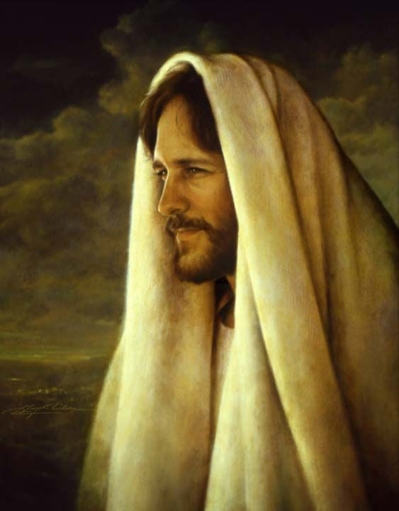 Gentle Healer - by Greg Olsen  I love this picture of the Savior. I think he looks so strong and yet so meek.