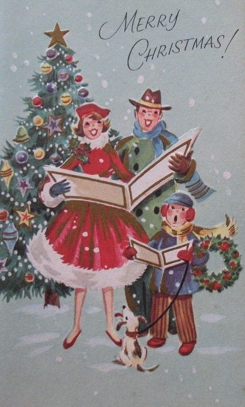 *Merry Christmas, Carolers*
