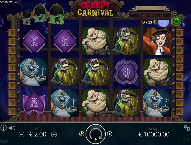 Creepy Carnival online slot review & ranking by casinoMACRO and real players. Play for FREE 1000+ casino games - video slots, blackjack, roulette & more.