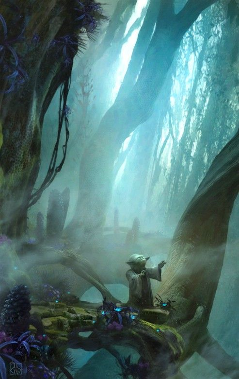 'There is no try' by Stephan Martiniere