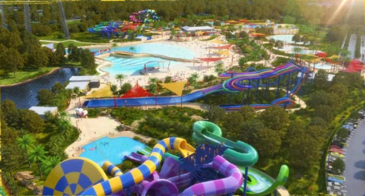 Wet'n'Wild Water Park at Western Sydney by The Buchan Group by [iD] newsource
