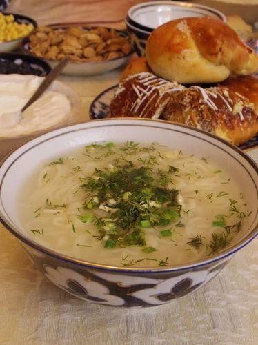 Uzbekistan food - Ugra noodle