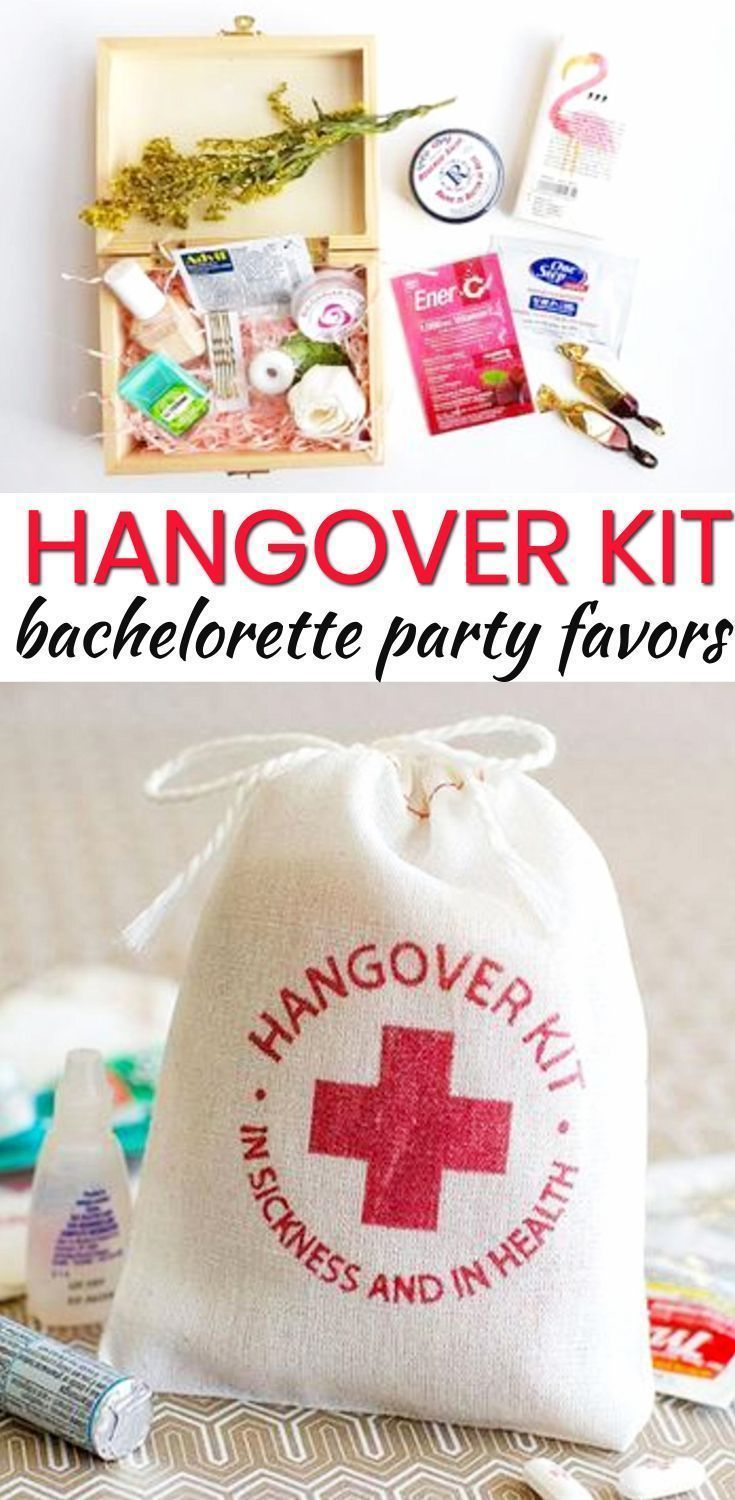Bachelorette Party Favors! The best Hangover Kit Bachelorette Party Favors! Your bride tribe, friends and guests will love any of these Bachelorette Party Favor Ideas! Amazing ideas including DIY, alcohol, goodie bags, hangover kits, survival kits and more. Find classy, unique, cheap and expensive ideas. Find amazing Bachelorette Party Favors Now! #wedding #bachelorette #bride #survivalkit #survivalideas