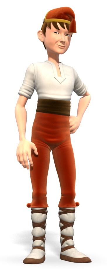 Character Description 2~ Galtzagorri, Calzas Coloradas