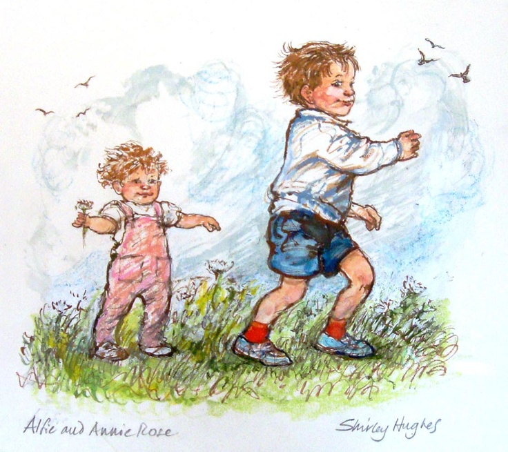 Alfie and Annie Rose (2), by Shirley Hughes