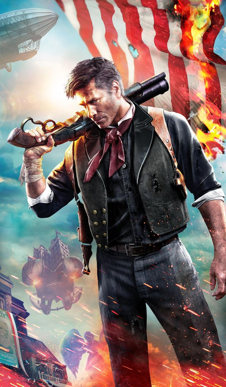 Booker DeWitt - The BioShock Wiki - BioShock, BioShock 2, BioShock Infinite, news, guides, and more