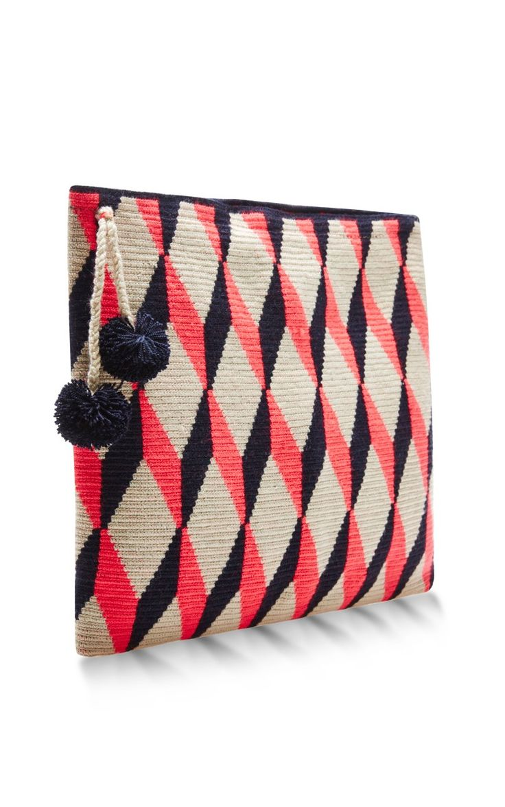 Handwoven Graphic Pouch by Sophie Anderson