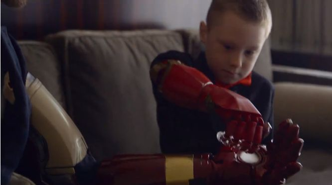 """""""Do you know who that is?"""" Alex is asked. """"Iron Man!"""" he replied with a big smile. It was a scene straight out of a comic book when billionaire tech inventor Tony Stark met Alex Pring, a 7-year-old..."""