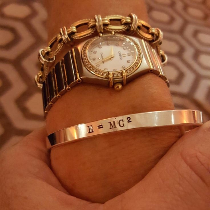 This personalized silver cuffs is Perfect