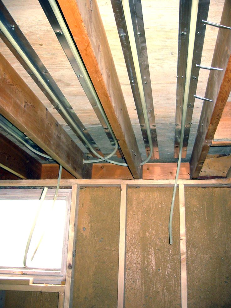 Superior Installation Of Tubing In Progress In ThermoFin C For Radiant Heated Floors    Contact Radiant Engineering To Retrofit Your House With Energy Efficient  ...