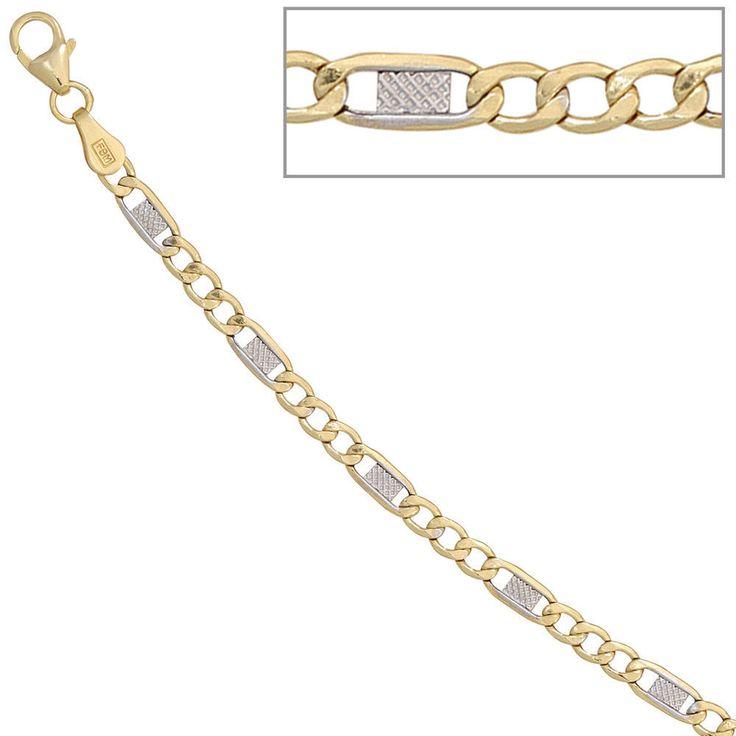 Steg-Panzerarmband 333 Gold Gelbgold teilrhodiniert 19 cm Armband http://www.ebay.de/itm/Steg-Panzerarmband-333-Gold-Gelbgold-teilrhodiniert-19-cm-Armband-A33167-/161834248320?ssPageName=STRK:MESE:IT